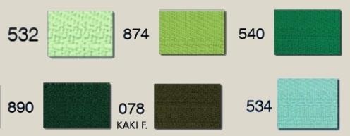 Sélectionnez le coloris savec le menu déroulant