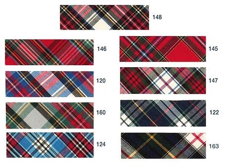 coloris biais écossais