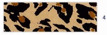 Biais imprimé léopard coloris fauve.jp