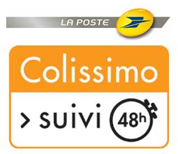 Logo Colissimo 48h